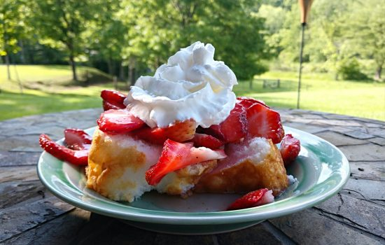 Simple and Sweet Strawberry Shortcake