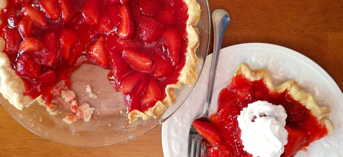 Hands Down Showstopper Strawberry Pie